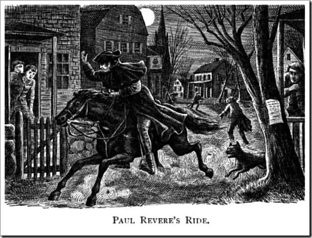 Ride of Paul Revere