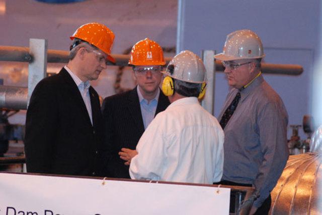 Harper Visits SaskPower