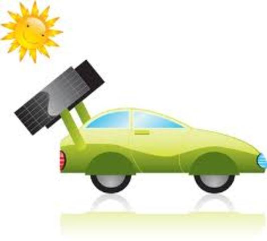 the car that works with solar energy