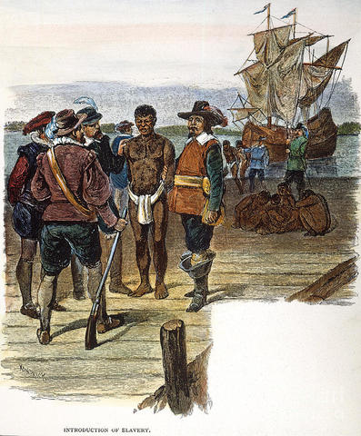 Africans sold in Virginia