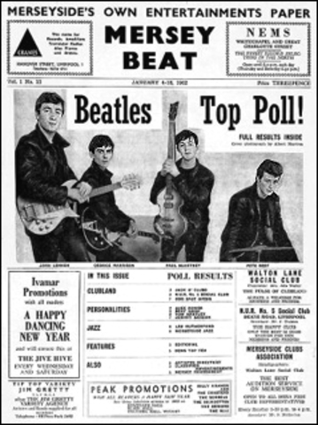 The Beatles' First Review