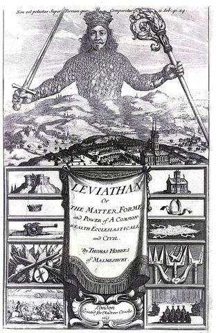 Thomas Hobbes wrties Leviathan