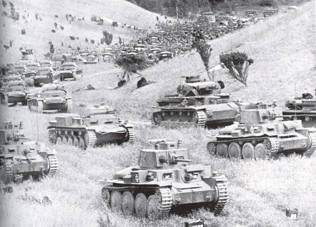 The germans invade Poland