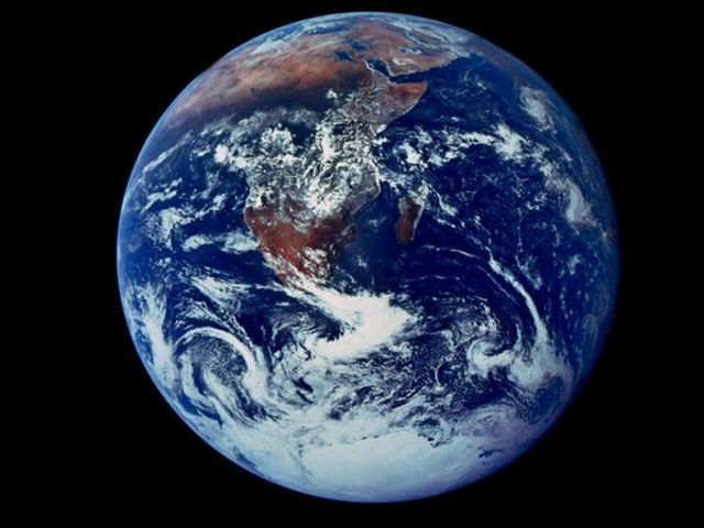 First Picture of Earth from Space