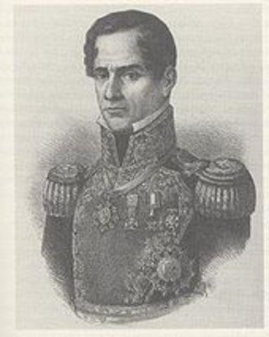 Santa Anna crossed the Rio Grande