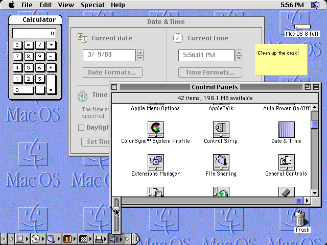SYSTEM 8