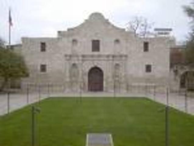 Battle Of The Alamo Begins