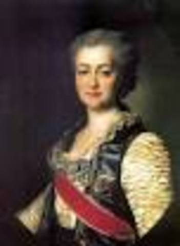 Catherine The Great rules Russia