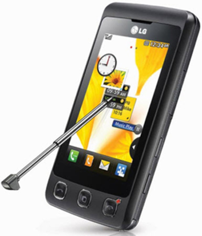 Teléfono móvil táctil