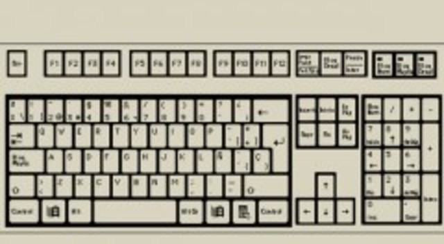 venta del teclado qwerty