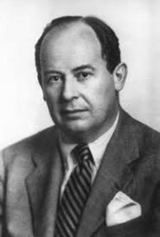 Von Neumann primera idea de virus