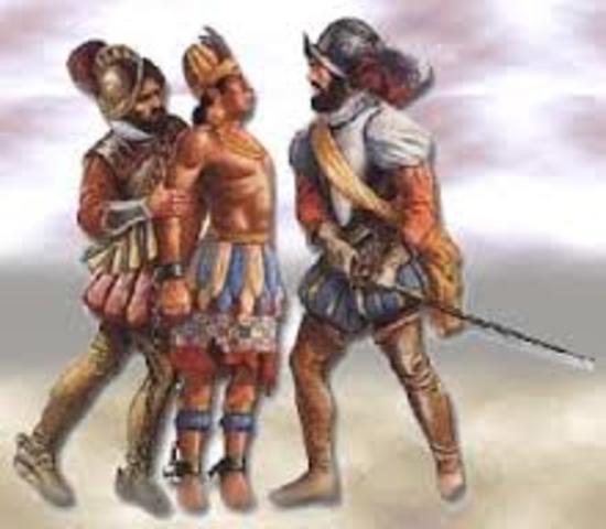 Pizzarro invades the Inca Empire