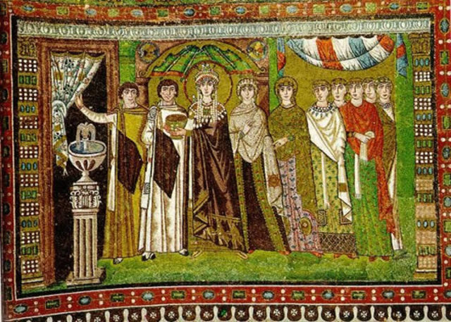Nace el arte bizantino