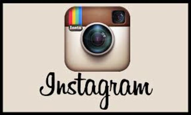 Primera cuenta de instagram