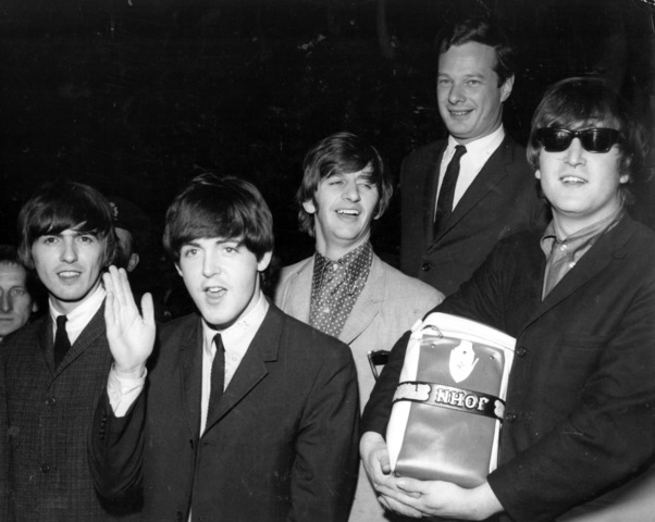 The Beatles' are Signed