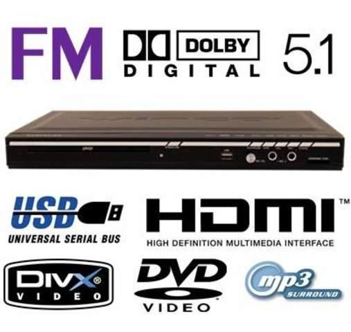 USB, reproductor de DVD