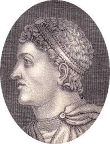 Teodosio I proclama al cristianismo como única religión del imperio (Edicto de Tesalónica).