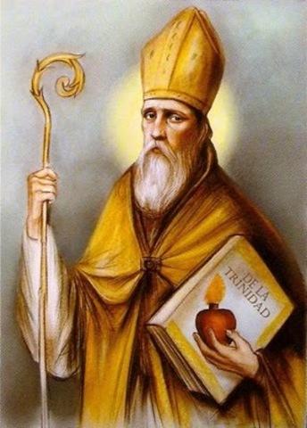 San Agustin se consagra Obispo de Hipona