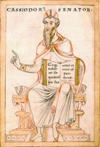 Casiodoro crea la escuela cristiana de Nisibe