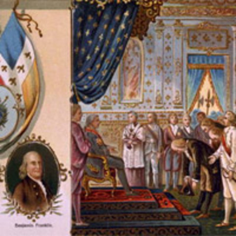 France Allies with the American Colonies