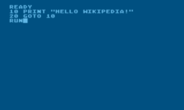 programa lenguaje BASIC