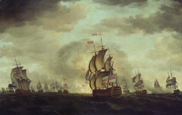 Spain declares war on the British