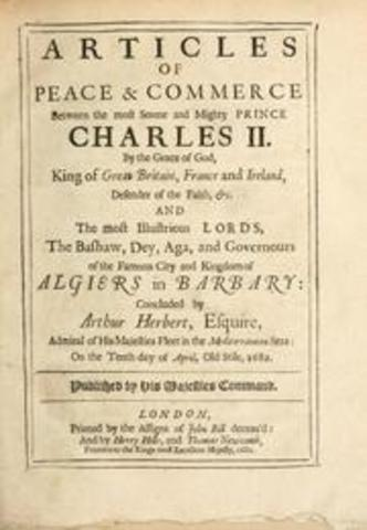 Sign Articles of Peace