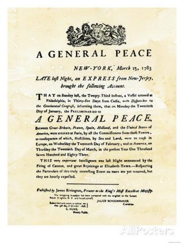 Ratified Peace Treaty