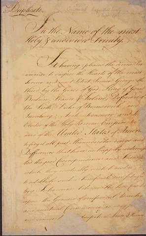 Treaty of paris ratified
