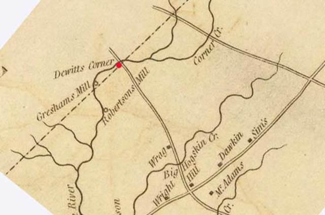 Treaty of Dewitt's Corner