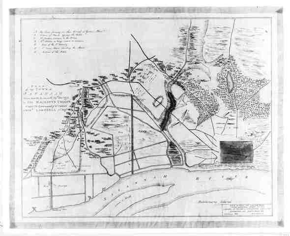 The British Capture Charlestown South Carolina