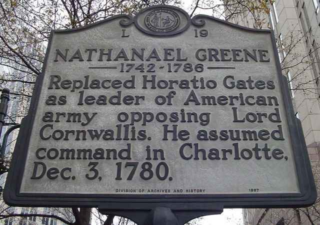 Nathanael Greene Becomes Commander of Southern Army