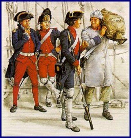 French Naval Forces Threaten British
