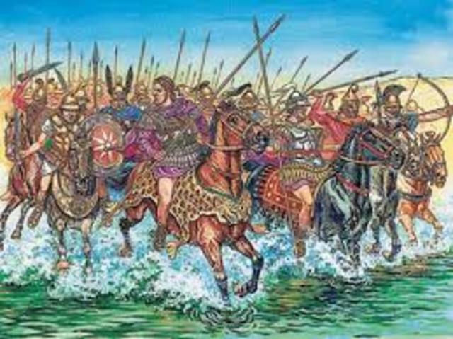 Roman Conquest - 800 B.C.E. - 550 A.D.