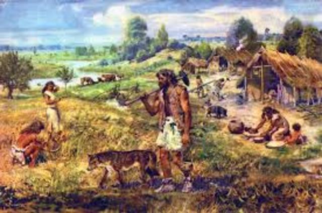 Agricultural Revolution 8000 - 2000 B.C.E.
