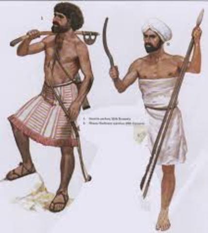 Semites 4000-1000 B.C.E