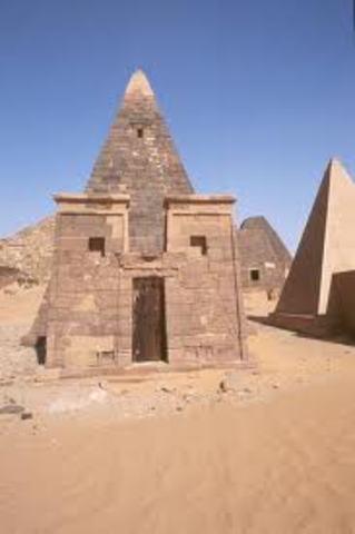 Nubia 3100 - 350 B.C.E.