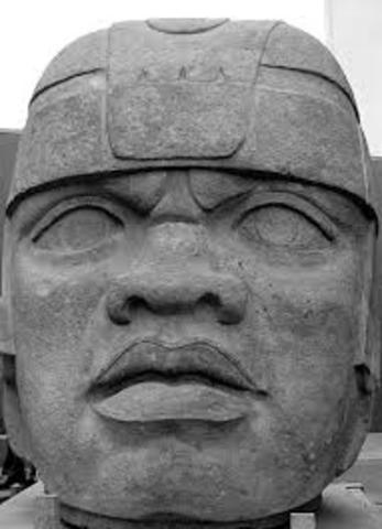 Olmec 1200 - 400 B.C.E.