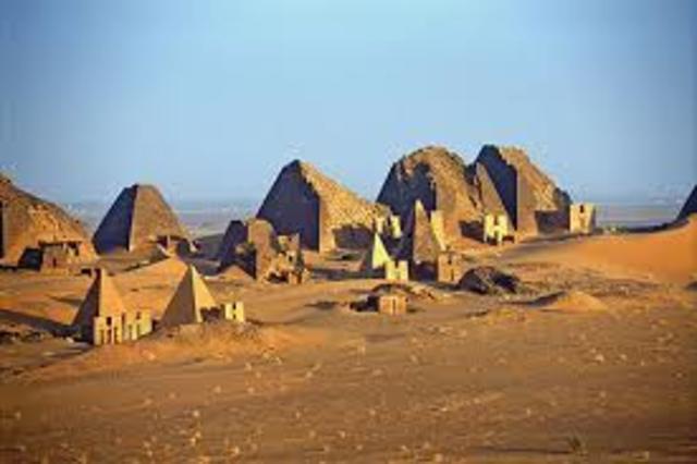 Meroe 800 - 350 B.C.E.