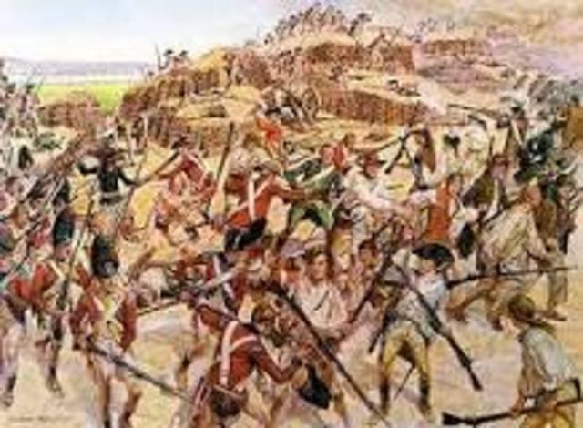Battle at Bunkerhill