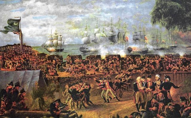 British take South Carolina