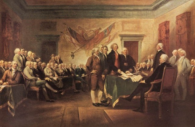 The Second Continental Congress Meeting