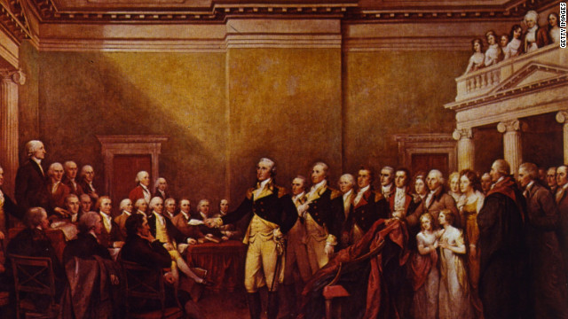 George Washington named Commanded in Chief