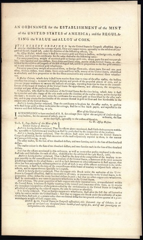 The Ordinance of 1784
