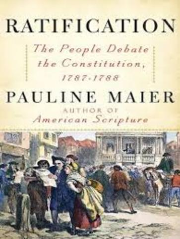 Ratification of the Constititution