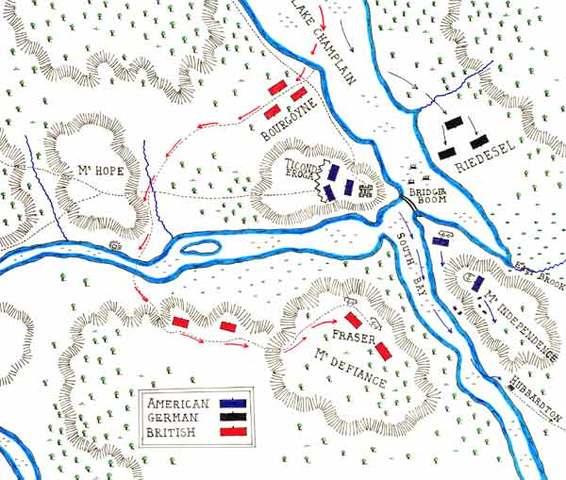 The Siege of Fort Ticonderoga