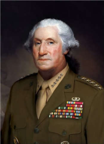 George Washington named Commander in Cheif