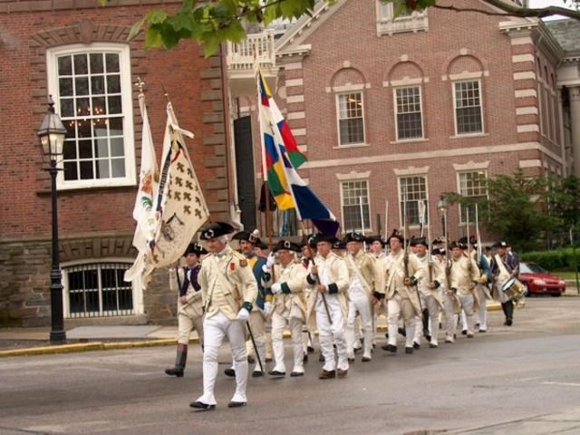 French troops arrive in Newport, RI