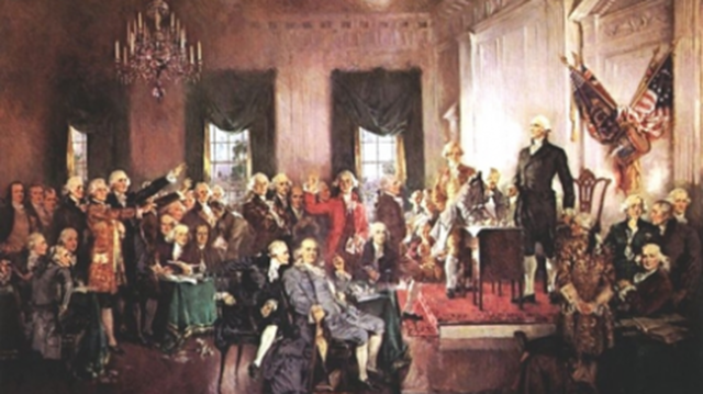 U.S. Constitution adopted