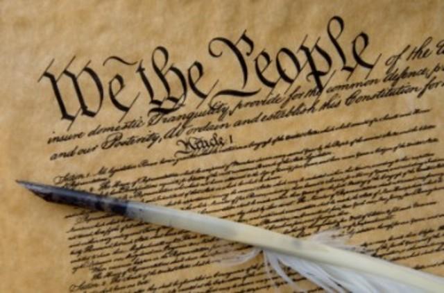 U.S. Constituation signed
